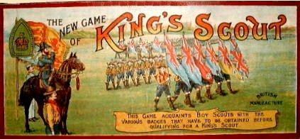 King's Scout Game box lid