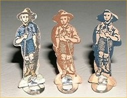King's Scout Game pieces
