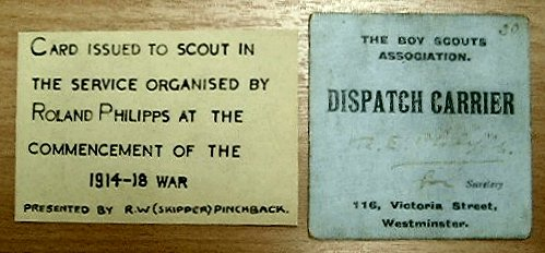 Dispatch Card