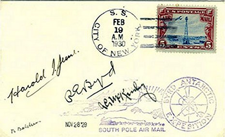 Cover with polar aviators signatures